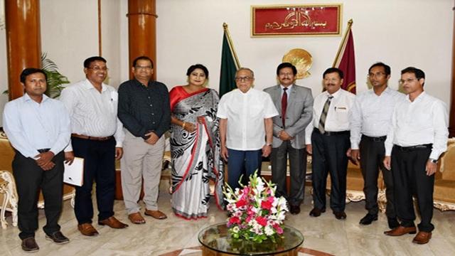 Kazi Nazrul Islam University VC calls on President